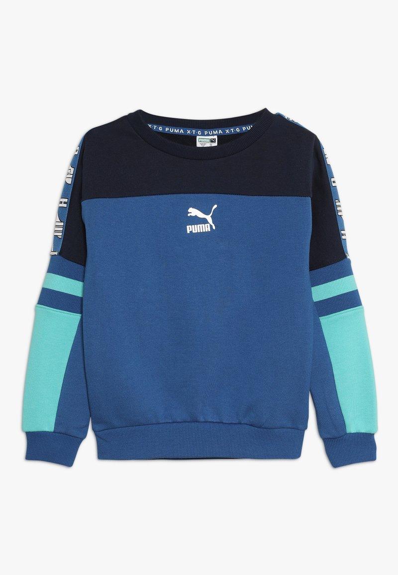 Puma - CREW - Sweatshirt - galaxy blue