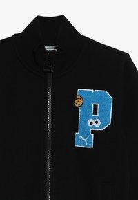 Puma - SESAME STREET JACKET  - Zip-up hoodie - black - 4