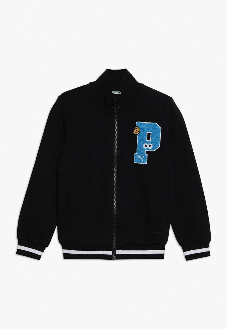 Puma - SESAME STREET JACKET  - Zip-up hoodie - black