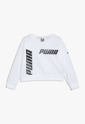 MODERN SPORTS CREW - Sweatshirt - puma white