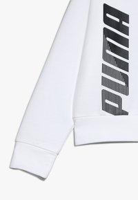 Puma - MODERN SPORTS CREW - Sweatshirt - puma white - 2
