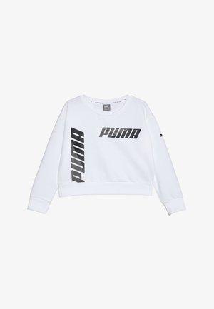 MODERN SPORTS CREW - Mikina - puma white