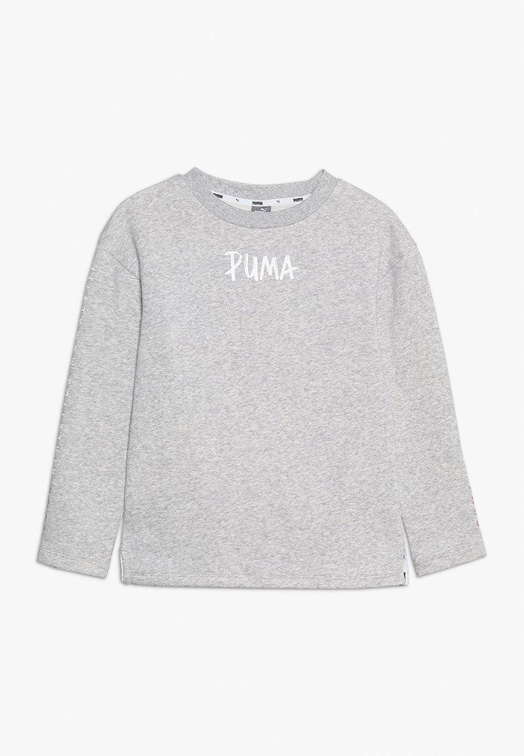 Puma - ALPHA CREW - Sweatshirt - light gray heather