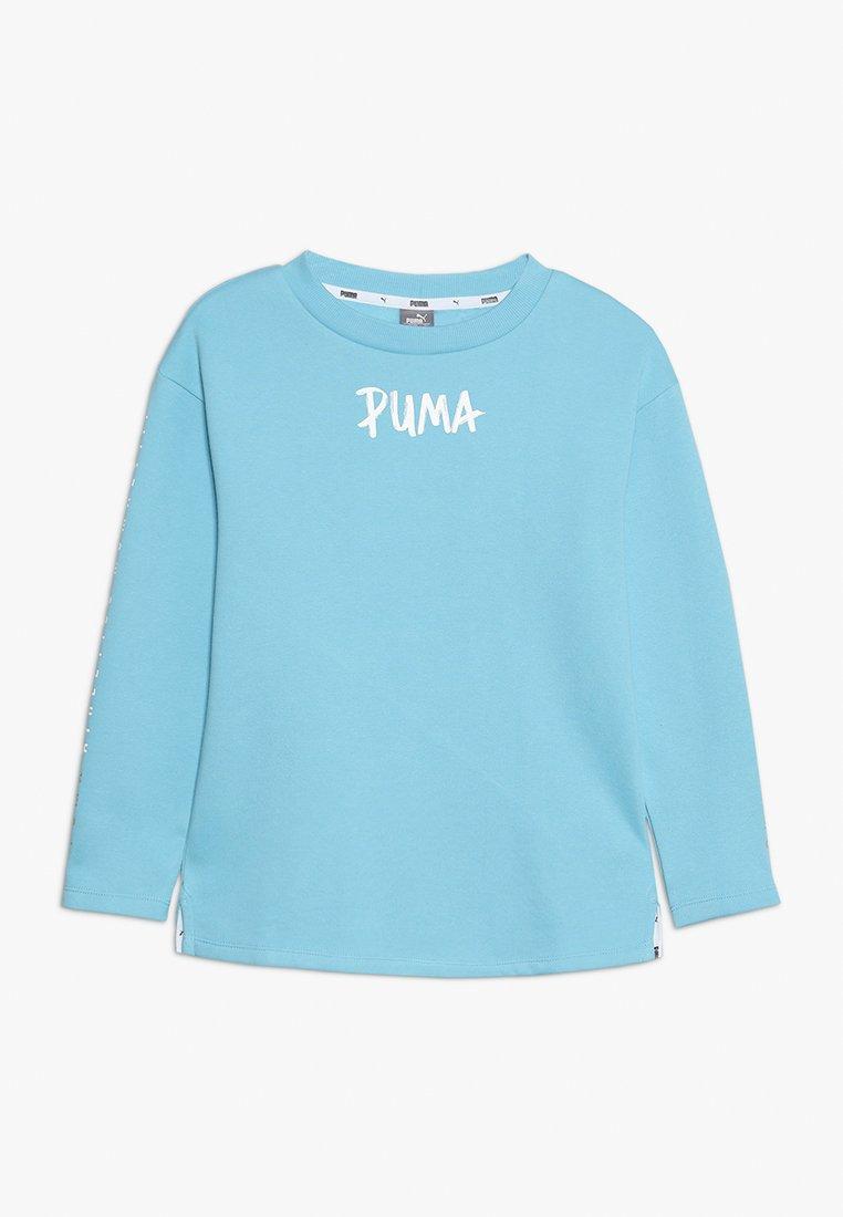 Puma - ALPHA CREW - Sweatshirt - milky blue