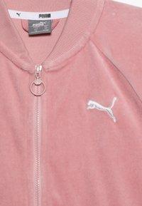 Puma - ALPHA JACKET - Zip-up hoodie - bridal rose - 4
