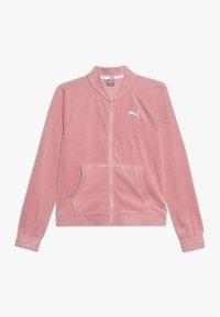 Puma - ALPHA JACKET - Zip-up hoodie - bridal rose - 0