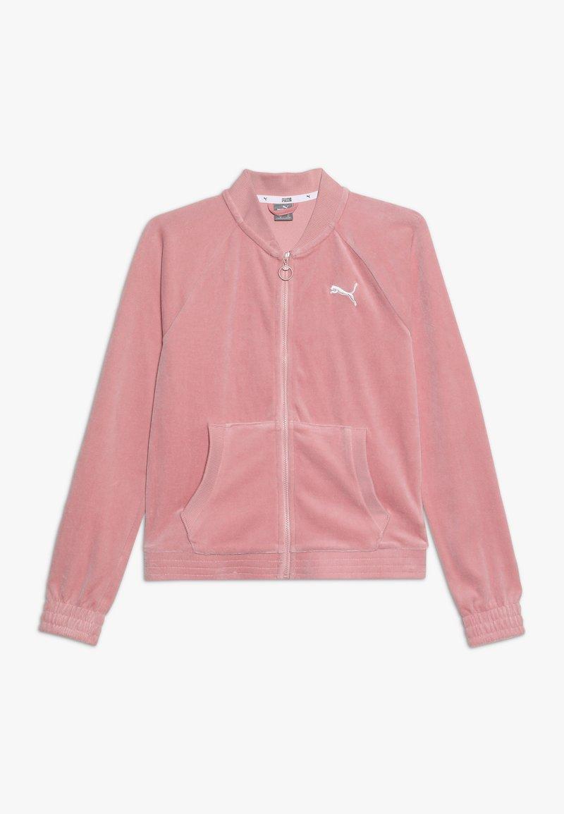 Puma - ALPHA JACKET - Zip-up hoodie - bridal rose