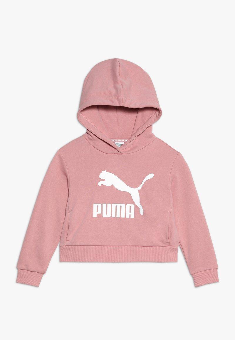 Puma - CLASSICS HOODY - Kapuzenpullover - bridal rose