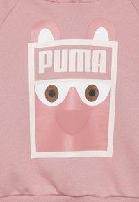 Puma - MONSTER HOODY - Jersey con capucha - bridal rose - 3