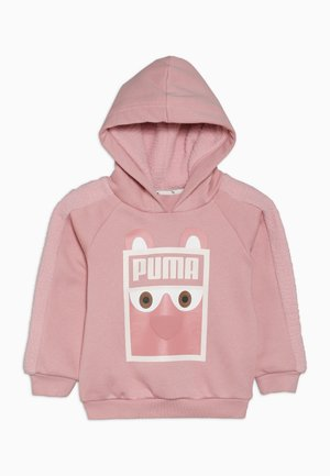 MONSTER HOODY - Jersey con capucha - bridal rose