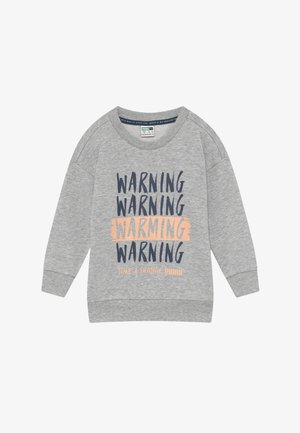 TIME FOR CHANGE CREW - Sweater - light gray heather