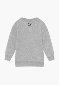 Puma - TIME FOR CHANGE CREW - Mikina - light gray heather - 1