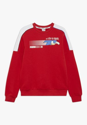 SEGA CREW - Sweatshirt - high risk red