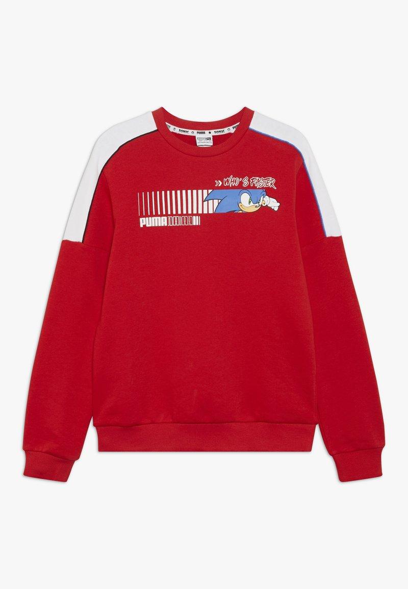 Puma - SEGA CREW - Sweatshirt - high risk red