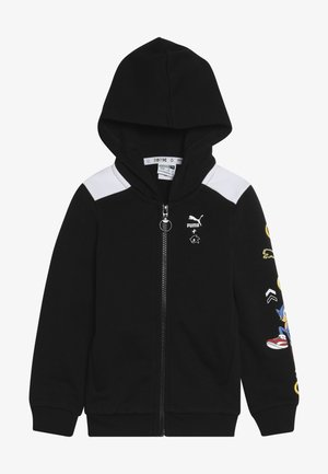 PUMA X SEGA HOODED JACKET - veste en sweat zippée - black