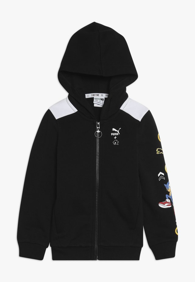 PUMA X SEGA HOODED JACKET - Hettejakke - black