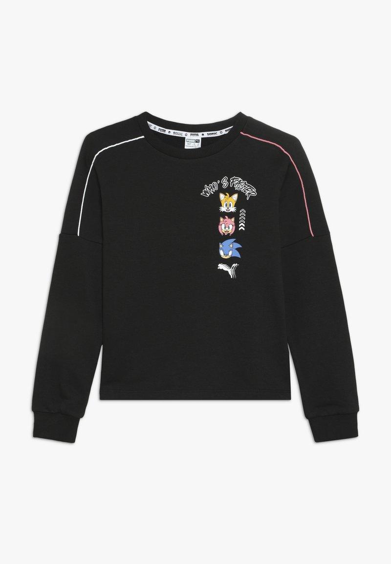 Puma - SEGA CREW - Sweatshirt - black