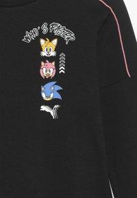 Puma - SEGA CREW - Sweatshirt - black - 3
