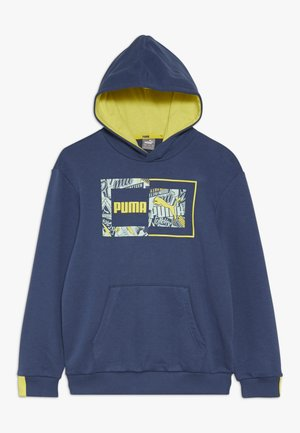 ALPHA HOODY - Sweat à capuche - dark denim