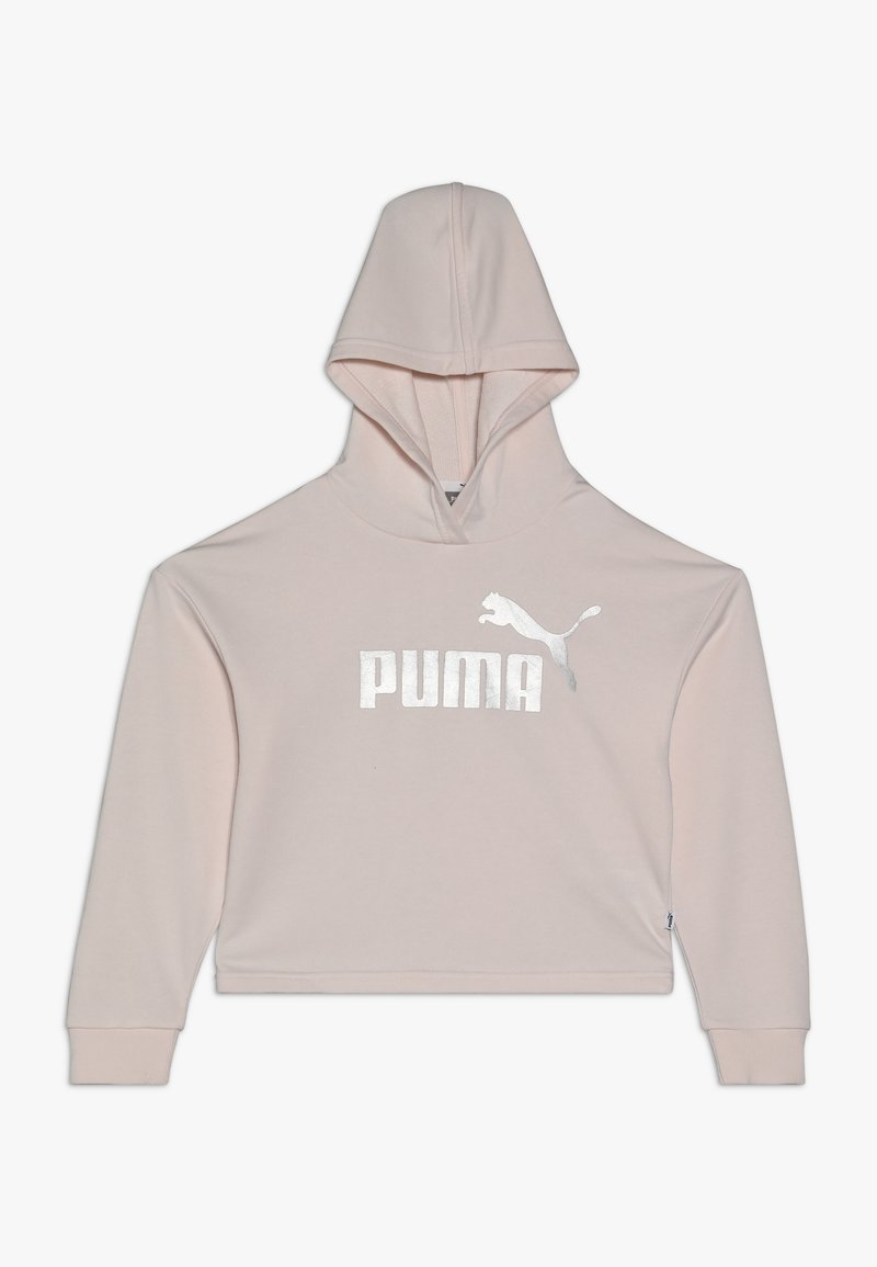 Puma - CROPPED HOODY  - Mikina skapucí - rosewater