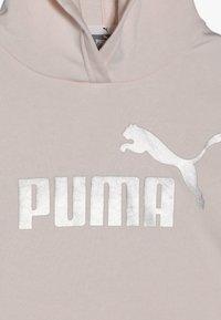 Puma - CROPPED HOODY  - Mikina skapucí - rosewater - 4