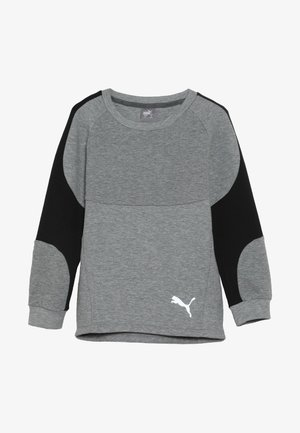 EVOSTRIPE CREW  - Sweatshirt - medium gray heather