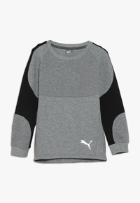 Puma - EVOSTRIPE CREW  - Sweatshirt - medium gray heather - 0