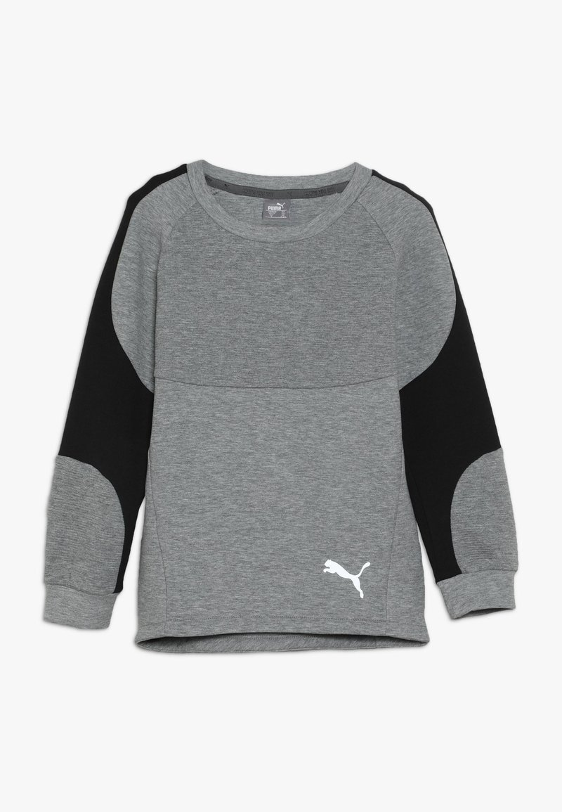 Puma - EVOSTRIPE CREW  - Sweatshirt - medium gray heather