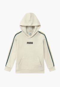 Puma - PUMA X ZALANDO TAPE HOODIE - Hoodie - silver birch - 0