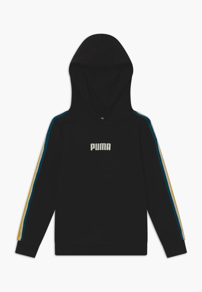 Puma - PUMA X ZALANDO TAPE HOODIE - Hoodie - black