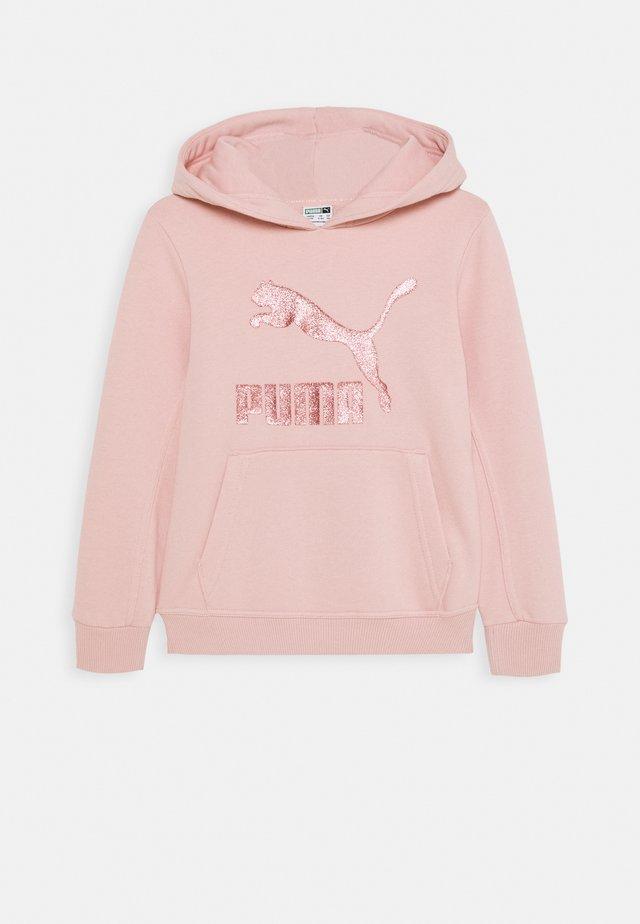 CLASSICS LOGO HOODY - Felpa - light pink