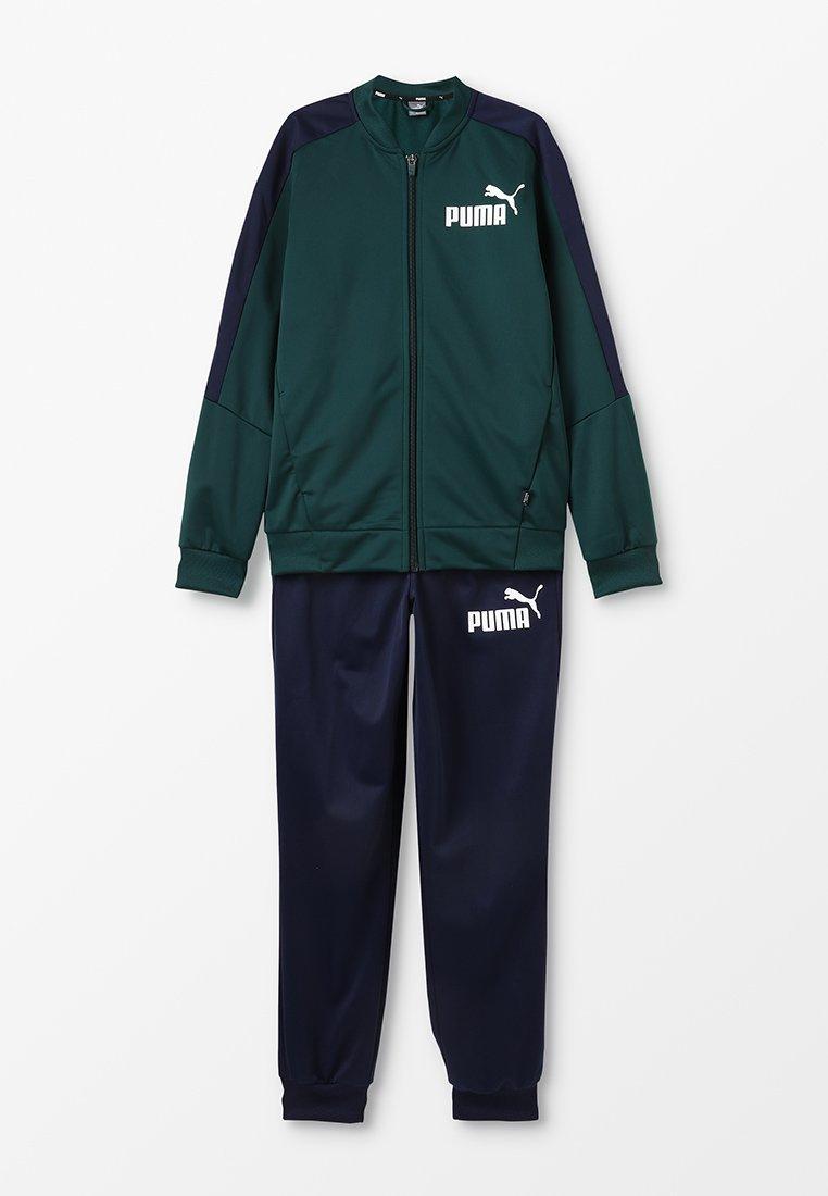 Puma - BASEBALL COLLAR TRACK SUIT - Trainingsanzug - ponderosa pine