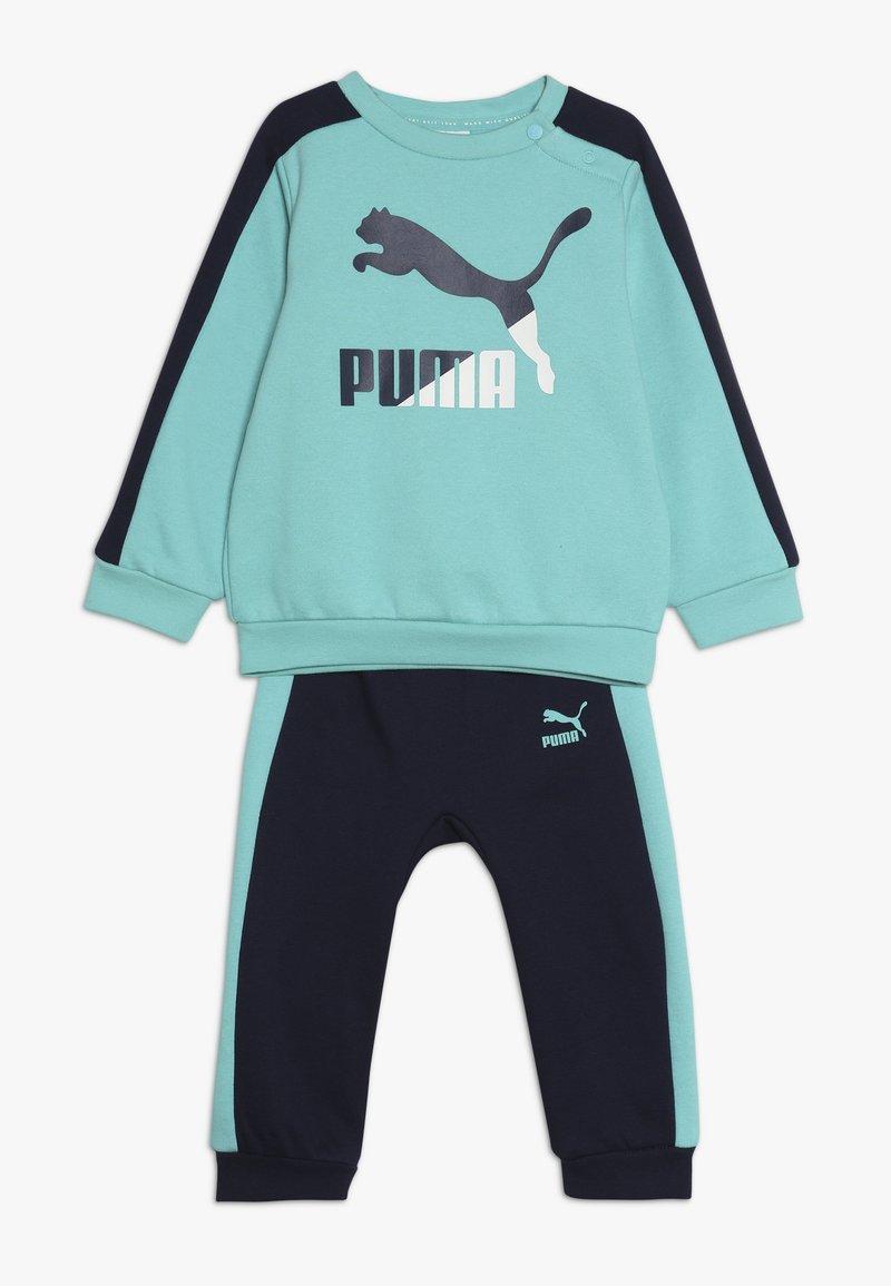 Puma - MINICATS CREW JOGGER SET - Tracksuit - blue turquoise