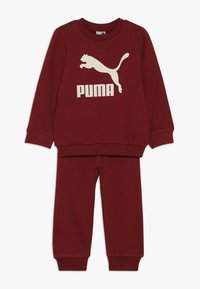 Puma - BABY LOGO SET - Dres - pomegranate - 0