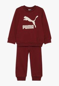 Puma - BABY LOGO SET - Survêtement - pomegranate - 0