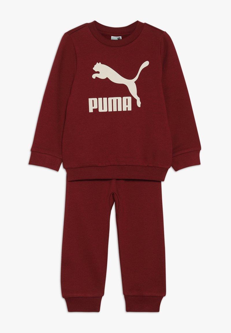 Puma - BABY LOGO SET - Träningsset - pomegranate