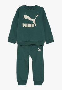Puma - BABY LOGO SET - Tuta - bistro green - 0