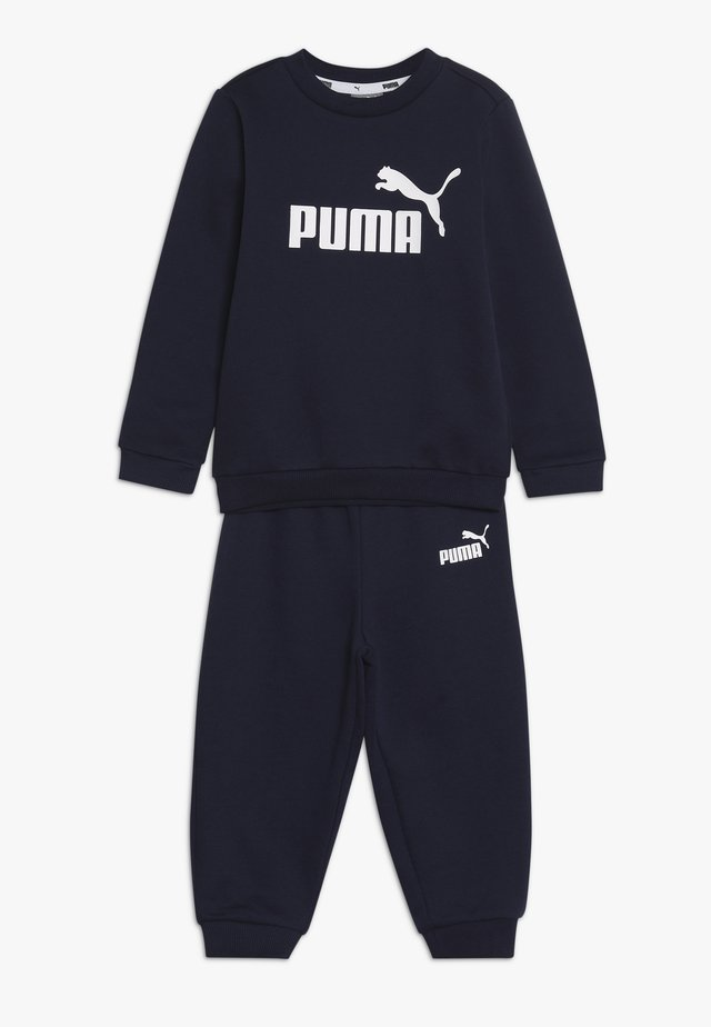 CREW BABY JOGGER SUIT - Tracksuit - peacoat