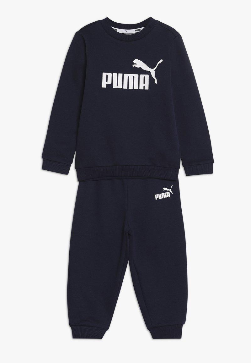Puma - CREW BABY JOGGER SUIT - Tepláková souprava - peacoat