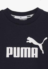 Puma - CREW BABY JOGGER SUIT - Tepláková souprava - peacoat - 6