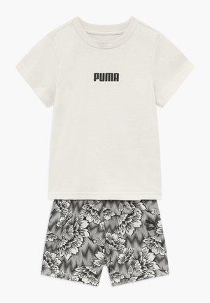 BABY SUMMER SET - Pantalón corto de deporte - silver birch