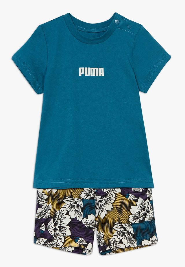 BABY SUMMER SET - Sports shorts - marrocan blue