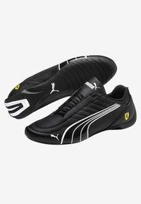 Puma - FERRARI FUTURE KART CAT - Sneakers laag - black - 4