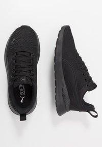 Puma - ANZARUN LITE - Chaussures d'entraînement et de fitness - triple black - 1