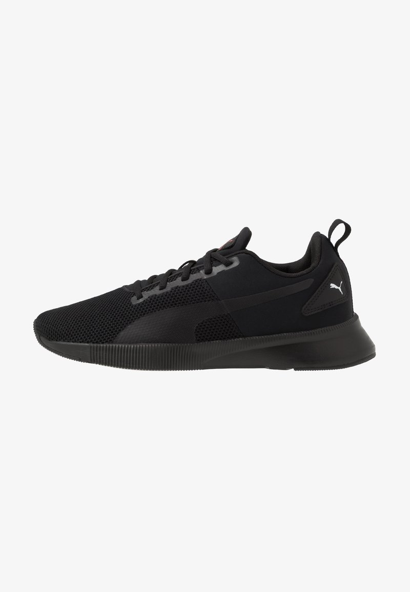 Puma - FLYER RUNNER - Obuwie do biegania treningowe - black/high risk red