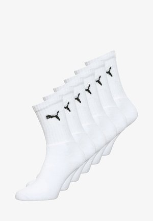6 PACK - Sports socks - white
