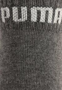 Puma - QUARTER 6 PACK - Sports socks - anthracite/light grey melange/medium grey melange - 3