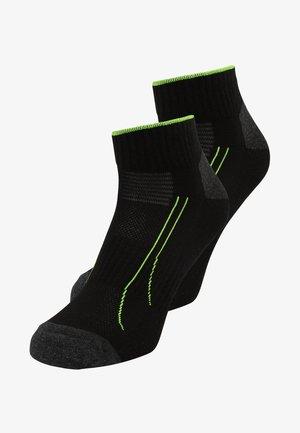 TRAIN QUATER 2 PACK - Sportovní ponožky - black