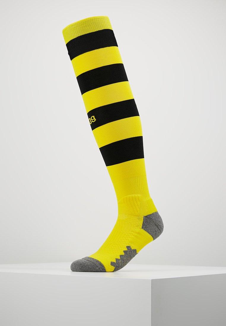 Puma - TEAM BVB BORUSSIA DORTMUND HOOPED - Skarpety sportowe - cyber yellow/puma black