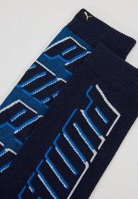 Puma - ALL OVERLOGO 2 PACK - Calze sportive - light grey / blue - 2